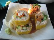 Alpine veggie roll
