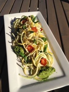 Vegetable Linguini