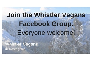 Whistler Vegans Facebook Group